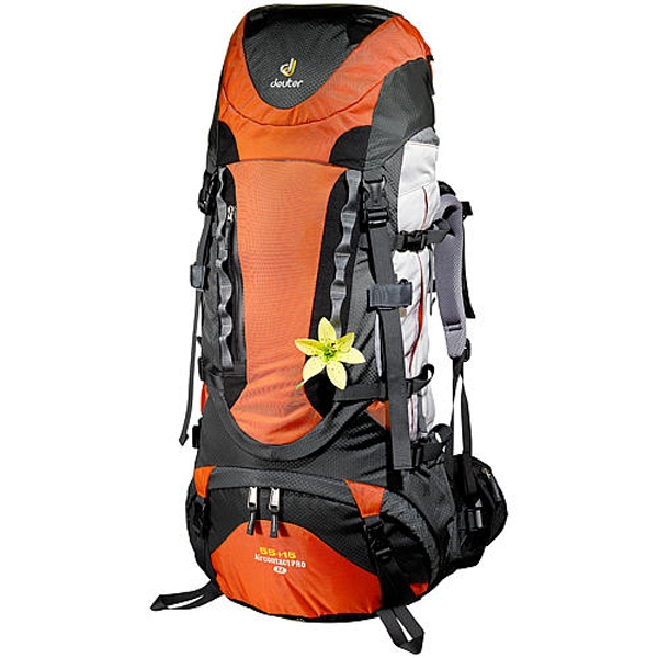 buying new low price look for DEUTER AIRCONTACT PRO 55+15SL (MANDARINE/ANTHRATIC)