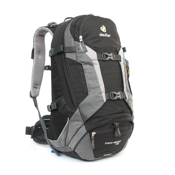d50dddecf DEUTER TRANS ALPINE 30 black-granite (32223-7410) - Evergreen Adventure
