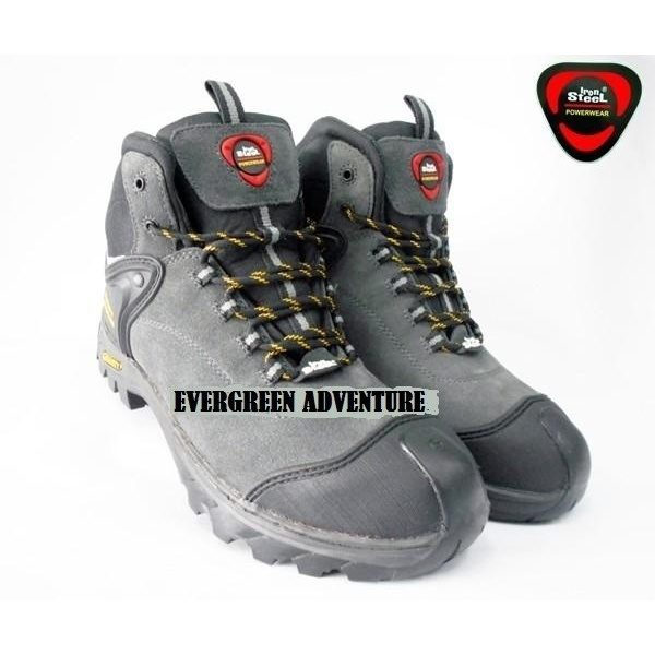 best place outlet for sale factory authentic IRON STEEL T-124A GREY SAFETY SHOE - Evergreen Adventure